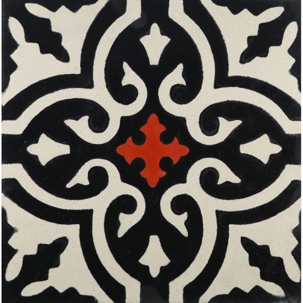 CLA04_V02 of the Classic Collection from TassemiT Cement Tiles | Authentic Moroccan Tile