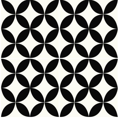 Multiple tiles of CLA06_V02 from the Classic Collection TassemiT Cement Tiles | Authentic Moroccan Tile