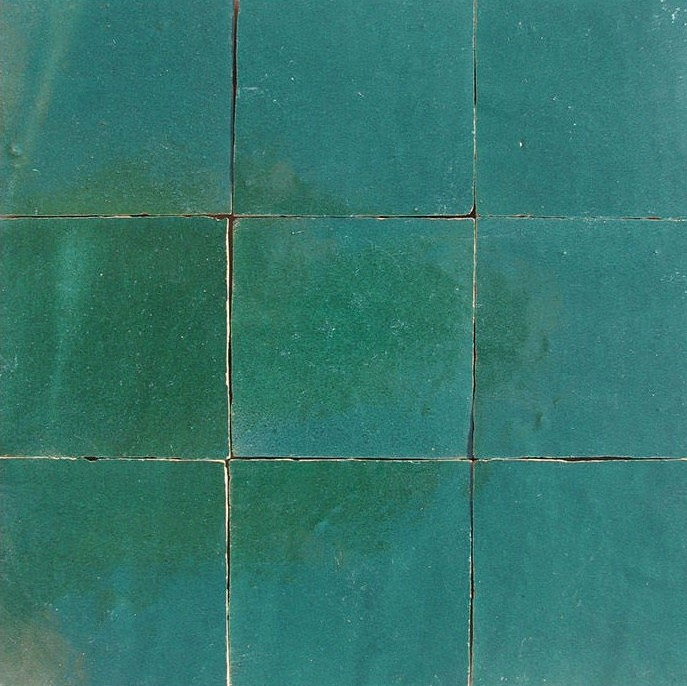 Zellige C14 of the Zellige Tile Collection from TassemiT Tile | Authentic Moroccan Tile