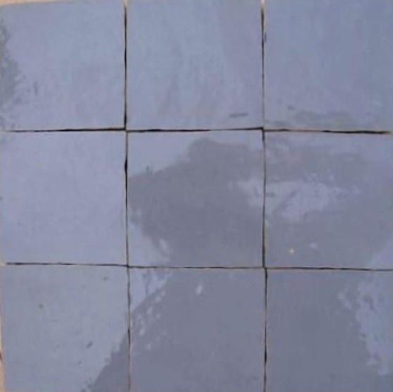 Zellige C120 of the Zellige Tile Collection from TassemiT Tile | Authentic Moroccan Tile