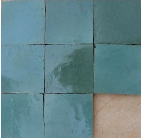 Zellige C26 of the Zellige Tile Collection from TassemiT Tile | Authentic Moroccan Tile