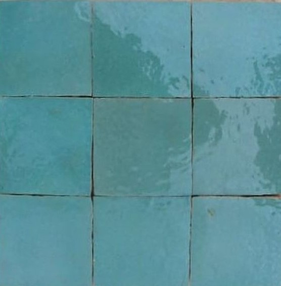 Zellige C54 of the Zellige Tile Collection from TassemiT Tile | Authentic Moroccan Tile