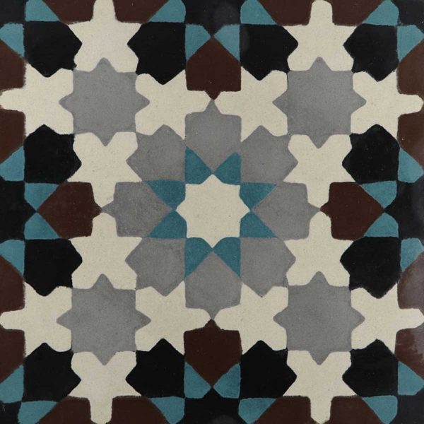 BER03_V03 of the Berber Collection TassemiT Cement Tiles | Authentic Moroccan Tile