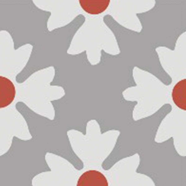 CLA01_V02 of the Classic Collection from TassemiT Cement Tiles | Authentic Moroccan Tile