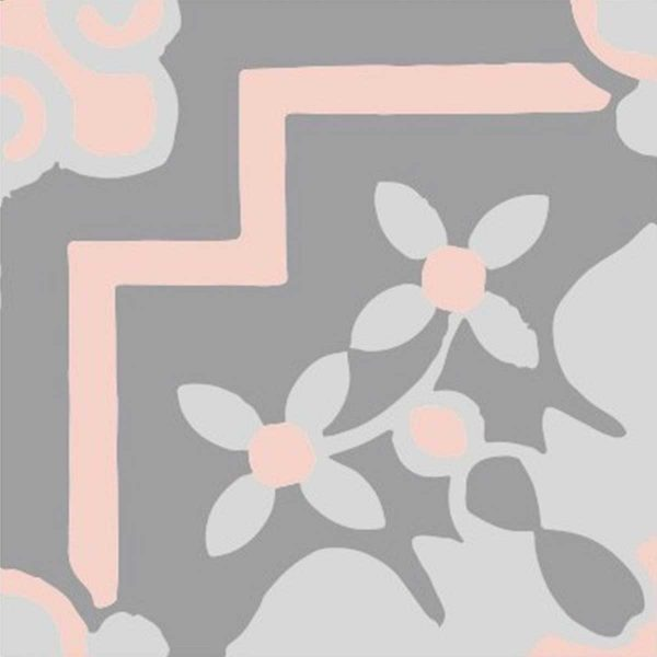 CLA03_V01 of the Classic Collection from TassemiT Cement Tiles | Authentic Moroccan Tile